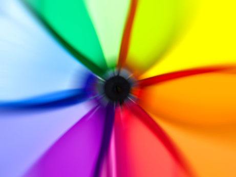 Harmónia farieb na webe
